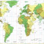 Carte de monde (timezone)
