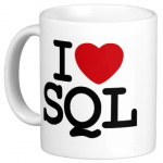 Tasse I LOVE SQL