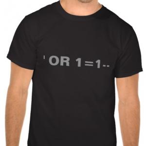 Tshirt injection SQL