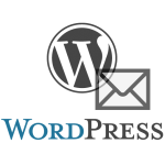 Logo WordPress avec email
